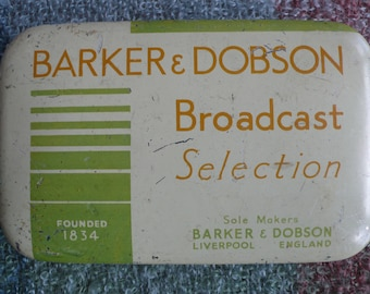 Barker and Dobson Liverpool vintage sweet tin