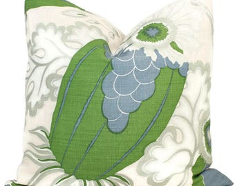 Christopher Farr OUTDOOR Carnival Decorative Pillow Covers 18x18, 20x20 or 22x22, 24x24, 26x26 or lumbar pillow