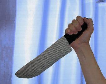 Crochet Pattern ~ Psycho Knife ~ Crochet Pattern
