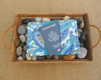 fabric passport cover for her, floral passport holder women, adventure awaits, travel gifts, travel her, wanderlust, cruise accessories