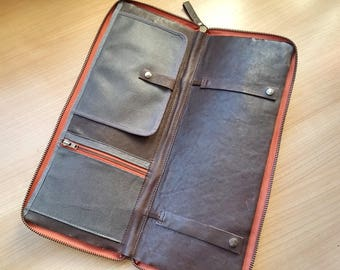 Tie case for travel - Personalized zip tie case