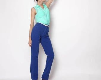 HUGE SALE Vintage Hipster Blue High Waisted Rockies Jeans