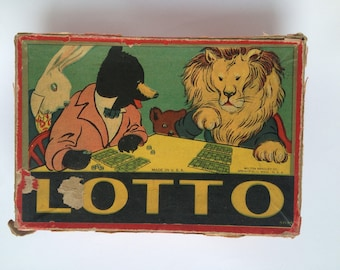 Vintage Lotto Game