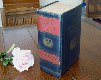 1945 Webster's Twentieth Century Dictionary Unabridged, Big WWII Webster's Dictionary 1945