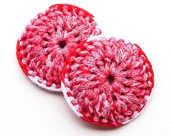 Heavy Duty Nylon Pot Scrubber - Set of 2 through 8 - Crocheted Dish Scrubbie - Tawashi - Kitchen Sponge