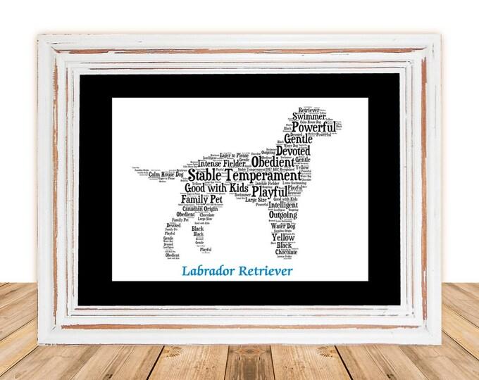 Labrador, Labrador art, Custom, Personalize, Pet Gift, Print, Dog Art, Pet Art, Pet Love, Lab