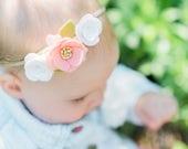 "The ""Emma"" Mini Felt Flower Crown"
