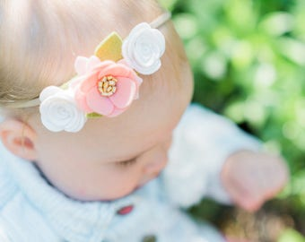 "The ""Emma"" Mini Felt Flower Crown"