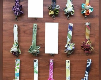 70% Off Your Choice Flower Key Chain Clip