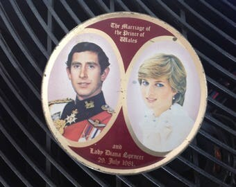 Princess Diana tin
