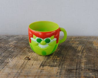 Vintage Kool Aid Character Cup With It Watermelon