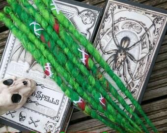 halloween zombie 6se dreadslocks dreads goth