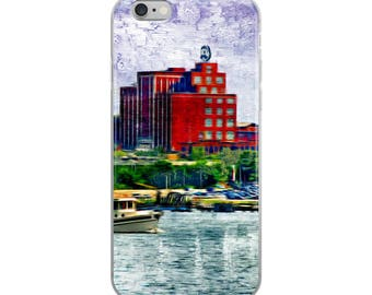 Natty Boh Tower, Canton Waterfront, Baltimore Art, National Boh, National Bohemian, Brewers Hill,  iPhone Case