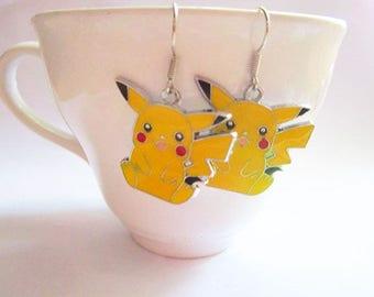 Pikachu Earrings - Pokemon Earrings