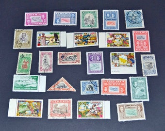 26 Liberia stamps mostly mint