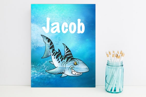 Shark Personalized Folder