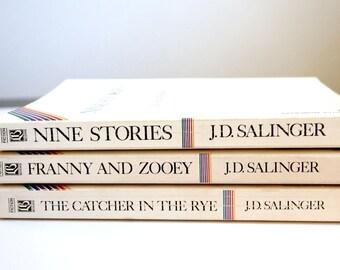 J D Salinger book set