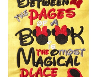 Between the Pages Minie Book saying design digital instant download