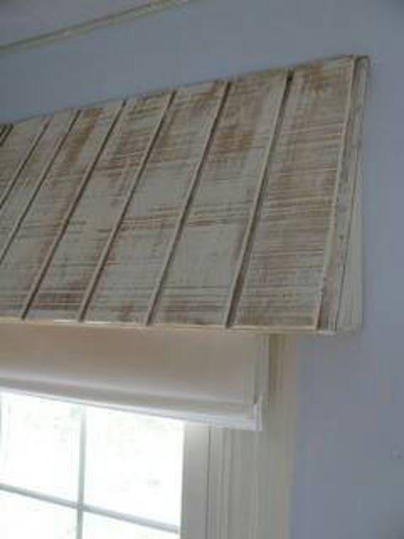 15 Rustic Wood Awning Window Valance Custom Window