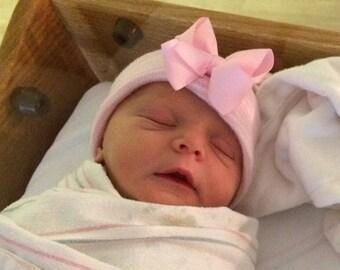 SALE 25% OFF newborn girl take home outfit, newborn girl hat, newborn girl clothes, newborn girl headband, newborn girl outfit, newborn girl