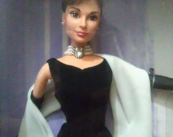 Vintage Audrey Hepburn doll as Holly Golightly in Breakfast at Tiffany's- Classic Edition