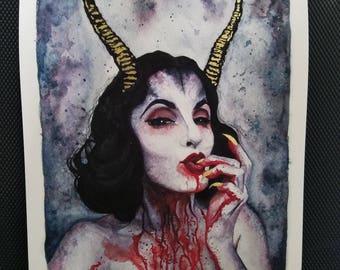 Glam Demon *****PRINT*****