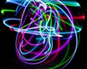 """36"""" ocho LED Hula Hoop"""