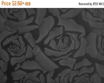 ON SALE Black Rose, Dark Rose by Timeless Treasures, Floral Fabric, Rose Fabric, Black Fabric, 01088A