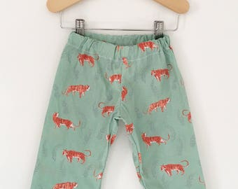 Tiger Baby, Toddler, and Child Straight Leg Pants