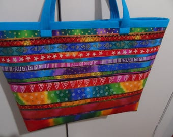 Laurel Burch Large Tote Bag -  Laurel Burch Bag  - Tote Bag - Laurel Burch Print - Handbag Tote Bag - Market Tote Bag - Overnight Bag