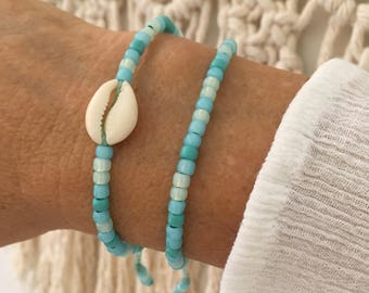beach bracelets, boho jewelry, gift for her