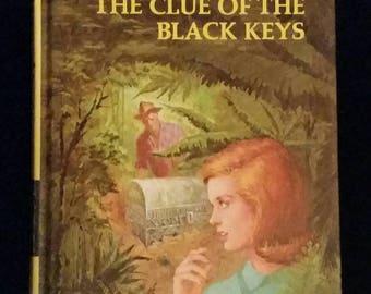 Vintage Nancy Drew The Clue of the Black Keys #28 Carolyn Keene 1970