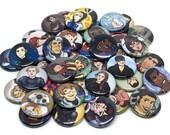 "RANDOM SET Mystery Multi-fandom 1"" Buttons"
