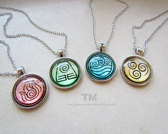 Can You Bend Them All? - Avatar: The Last Airbender and The Legend of Korra Inspired Necklaces