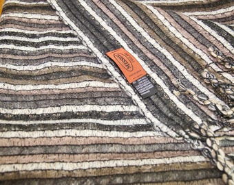 Vintage Missoni Wool Blend Long Scarf