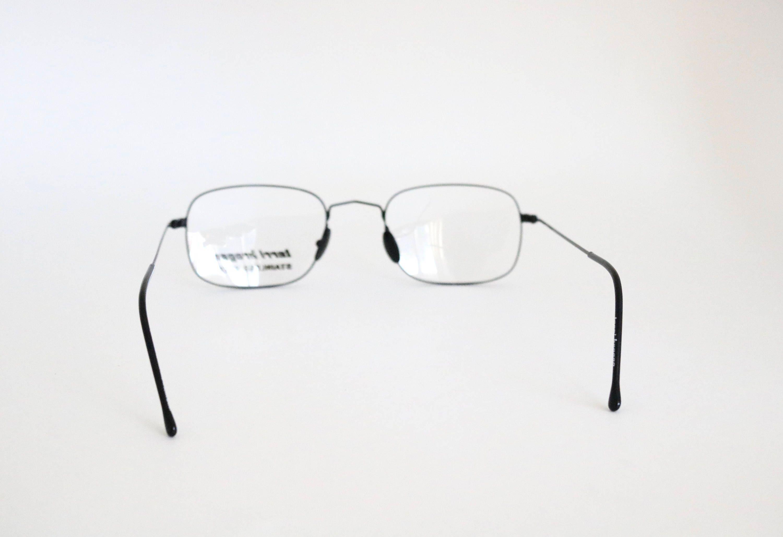 Vintage Italian Black Wire Eyeglasses Sunglass Frames ...