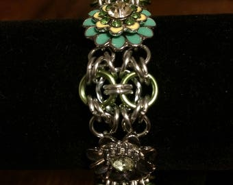 3 Flower Necklace