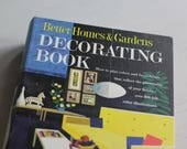 Mid Century Modern Better Homes and Gardens Decorating Book