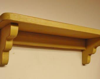 Wood Shelf - Made To Order, Handmade Shelving, Primitive Shelves, Country Farmhouse Decor