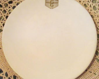 Vintage Shenango China Restaurant Ware Bread Plate, GG, Griffin Gate