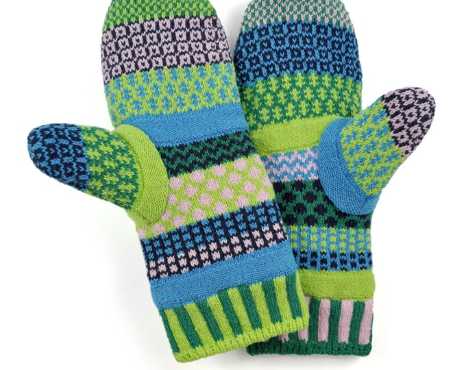 Solmate Accessories - Water Lily Fleece Lined Mittens Limited - Available to order through midnight November 27th!