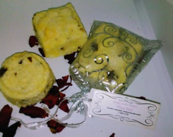 """Wade in the Waters """"Ylang Ylang"""" scented, organic moisturizing bath bomb"""