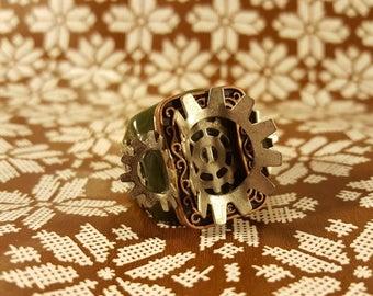 Chunky Steampunk Ring