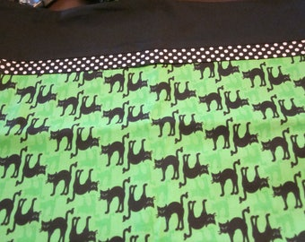 HALLOWEEN Pillow Cover/ Trick or Treat Bag - Scaredy Cats Ready to Ship