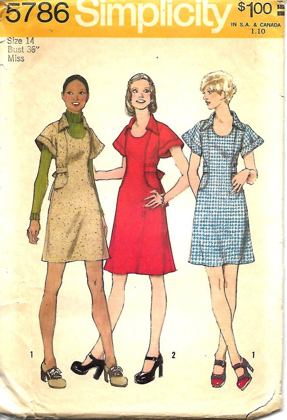 d9abf9216 Simplicity 5786 Sewing Pattern
