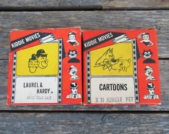 Super 8 Cartoon, 8 mm Movies, Vintage Cartoons, Laurel and Hardy, Tom & Jerry, Vintage Film, Kiddie Movies, Atlas Films