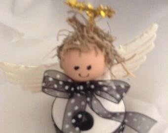 Little Clay Pot Angel