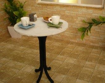 Terrace table In 1: 6 scale