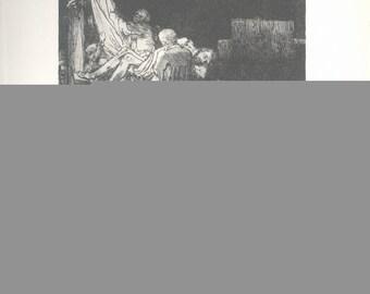 van Rijn Rembrandt-Deposition By Torchlight-1968 Poster