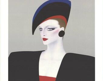 Gerald Razzia-Harrods-1988 Lithograph-SIGNED